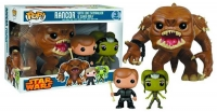 Star Wars POP! Vinyl Figuren Dreierpack Rancor, Luke Skywalker & Slave Oola 9 - 15 cm