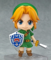 The Legend of Zelda Link Majora's Mask 3D Ver. Nendoroid Actionfigur 10 cm