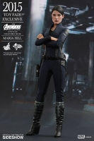 Avengers Age of Ultron Maria Hill Movie Masterpiece Actionfigur 1/6 Toy Fair Exclusive 2015 29 cm
