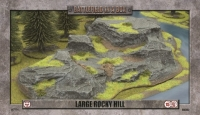 Battlefield in a Box - Large Rocky Hill (x1) - 15mm/30mm