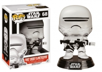 Star Wars Episode VII First Order Flametrooper POP! Vinyl Wackelkopf-Figur 10 cm