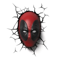 Deadpool Mask 3-D LED Light