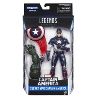Captain America Actionfigur - Captain America Civil War Marvel Legends