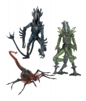 Aliens Serie 10 Set (3) Actionfiguren 23 cm