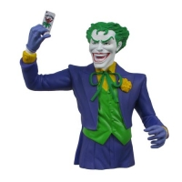 Batman The Joker Vinyl Bust Bank