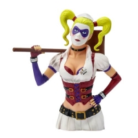 Arkham Asylum Harley Quinn Bust Bank - Previews Exclusive