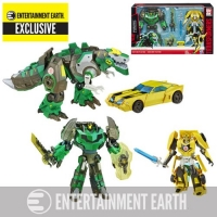 Transformers Asia Kids Day Platinum Edition Robots in Disguise Premium Bumblebee and Grimlock 2-Pack - Exclusive