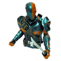 Arkham Origins Deathstroke Bust Bank - Previews Exclusive