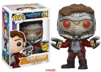 Guardians of the Galaxy Vol. 2 POP! Marvel Vinyl Figuren 9 cm Star-Lord Chase Version