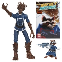 Marvel Legends Groot und Rocket Raccoon Actionfiguren Comic 2-Pack