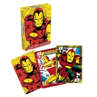 Iron Man Retro Playing Cards
