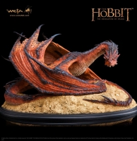Der Hobbit Smaugs Einöde Statue 1/72 Smaug The Terrible 52 cm