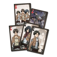 Attack on Titan Style 2 Playing Cards