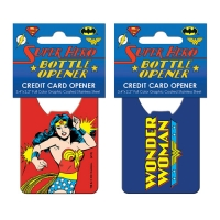 Wonder Woman Pop Art Credit Card Bottle Opener