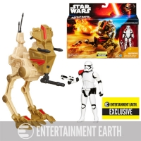 Star Wars The Force Awakens Desert Assault Walker with First Order Stormtrooper Officer - EE Exclusive