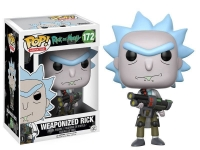 Rick and Morty POP! Animation Vinyl Figur Weaponized Rick 9 cm