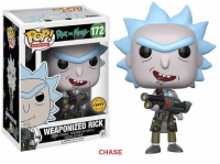 Rick and Morty POP! Animation Vinyl Figur Weaponized Rick 9 cm Chase Version