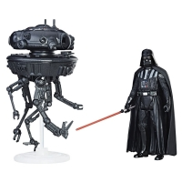 Imperial Probe Droid & Darth Vader (Episode V)