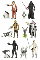 Star Wars Actionfiguren 10 cm 2015 Jungle/Space Wave 1 Set (6)