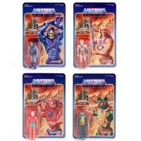 Masters of the Universe ReAction Actionfiguren 10 cm Wave 1 Sortiment (4)