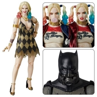 Suicide Squad MAF EX Actionfigur Harley Quinn Dress Version 15 cm