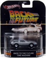 Hot Wheels Retro Entertainment Back to the Future Time Machine