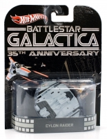 Hot Wheels Retro Entertainment Battlestar Galactica Cylon Raider
