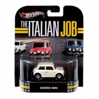 Hot Wheels Retro Entertainment The Italian Job Morris Mini - White
