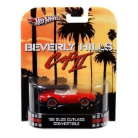 Hot Wheels Retro Entertainment Beverly Hills Cop II '68 Olds Cutlass Convertible