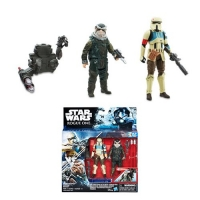 Star Wars Rogue One Shoretrooper Captain & Bistan Actionfiguren Set 10 cm 2016