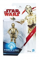 C-3PO Star Wars Episode VIII Force Link Actionfigur 10 cm 2017