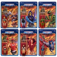 Masters of the Universe ReAction Actionfiguren 10 cm Wave 3 Sortiment (6)