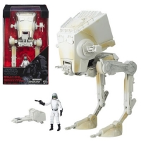 Star Wars: The Black Series AT-ST Vehicle with 3 3/4-inch Driver Action Figure