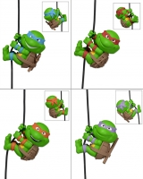 Teenage Mutant Ninja Turtles Scalers Minifiguren 5 cm Set