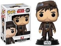 Star Wars Episode VIII POP! Vinyl Wackelkopf-Figur DJ