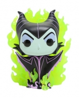 Disney POP! Vinyl Figur Maleficent Green Flame 9 cm Glow in the Dark Chase Limited Edition