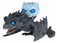 Game of Thrones POP! Rides Vinyl Figur Night King & Icy Viserion 15 cm