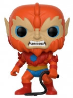 Masters of the Universe POP! Television Vinyl Figur Beast Man 9 cm