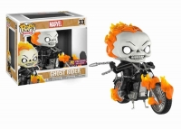 Marvel POP! Rides Vinyl Wackelkopf-Figur Classic Ghost Rider & Motorcycle 16 cm Exclusive