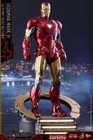 Avengers Iron Man Mark VI MMS Diecast Actionfigur 1/6 30 cm