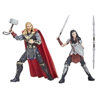 Marvel Legends Cinematic Universe 10th Anniversary Thor and Sif 6-Inch Action Figures