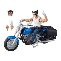 Wolverine with Motorcycle Marvel Legends Action Figure