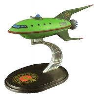 Futurama Q-Fig Mini Masters Replik Planet Express Raumschiff LC Exclusive 12 cm