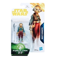 Maz Kanata Star Wars Episode VIII Force Link 2.0 Actionfigur 10 cm