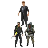 Ghostbusters 2 Select Actionfiguren 18 cm Serie 7 Set
